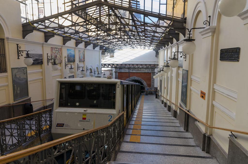 Funiculare Centrale Bergstation