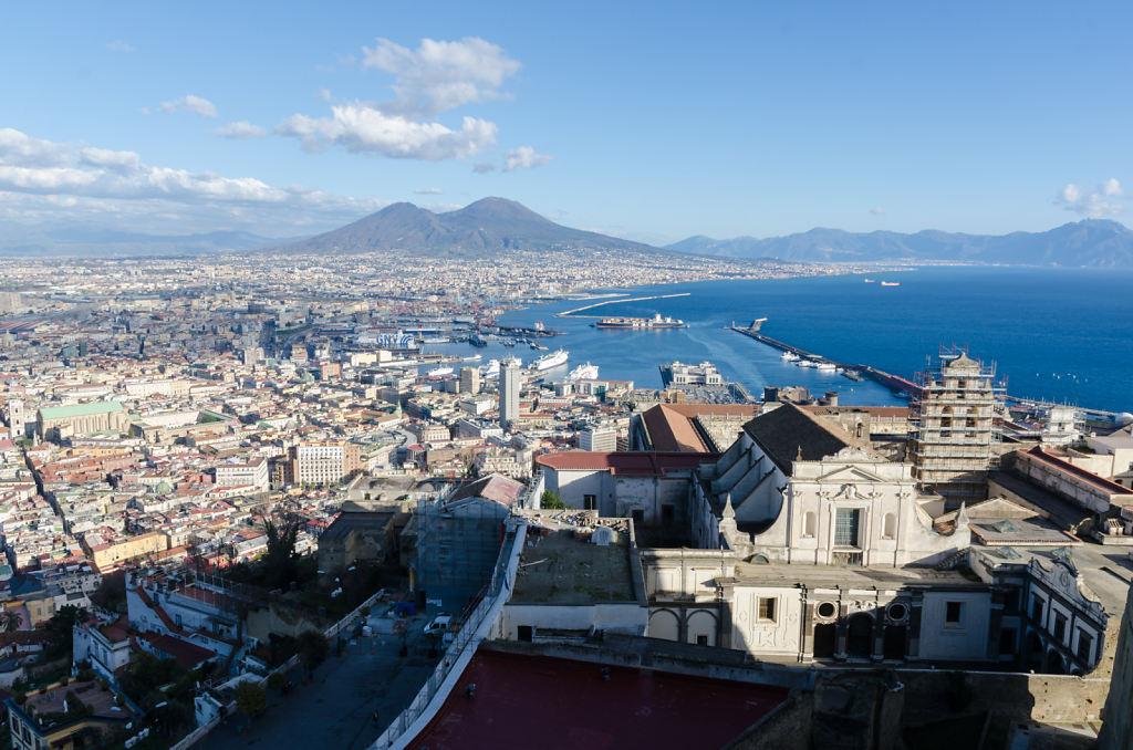 Neapel vom Castel Sant'Elmo