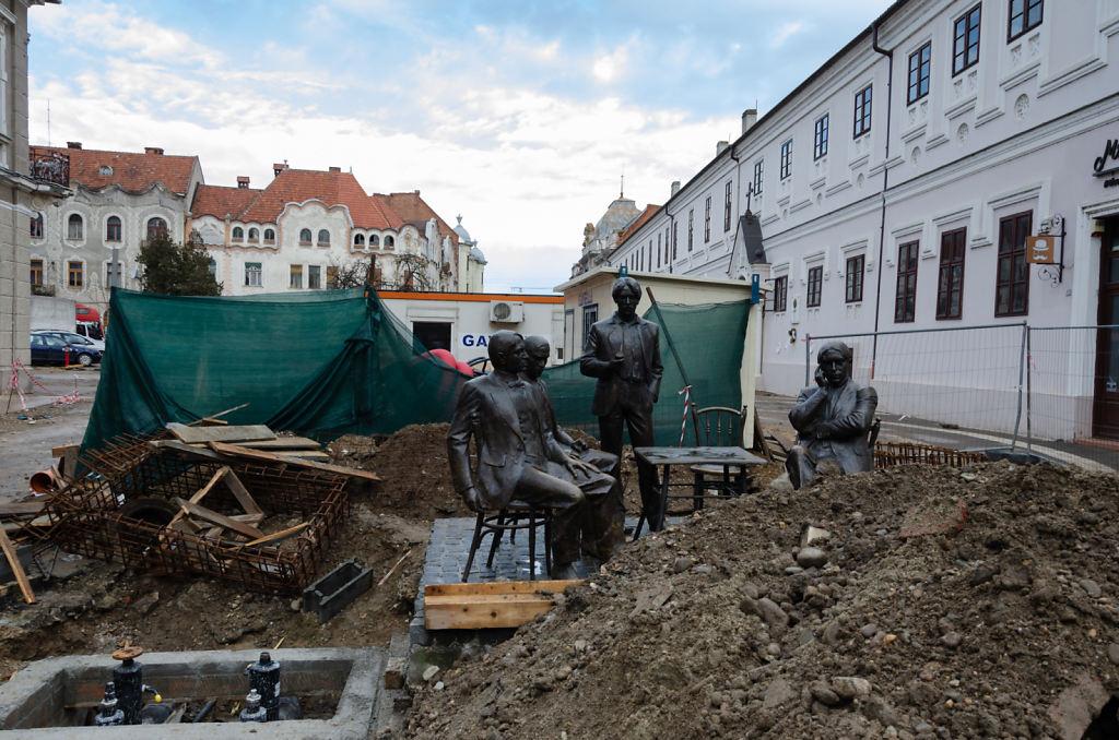 Denkmal als Baustelle