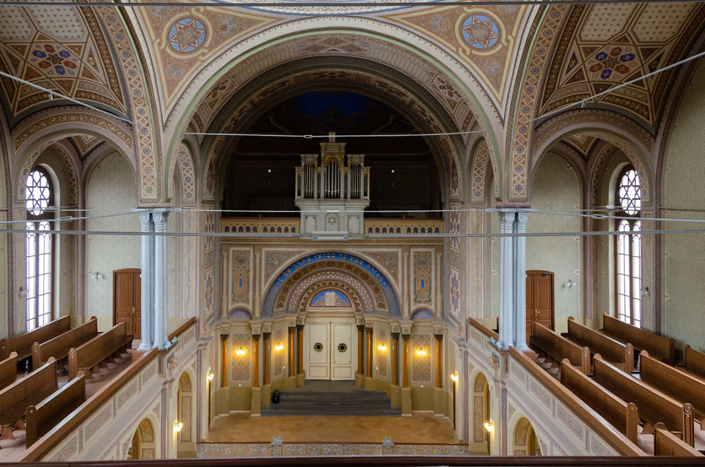 Sinagoga Neologă (Innenraum)